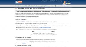 DNS Exit Dynamic DNS